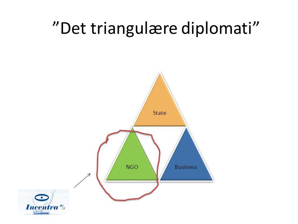 Det triangulære diplomati StateNGOBusiness