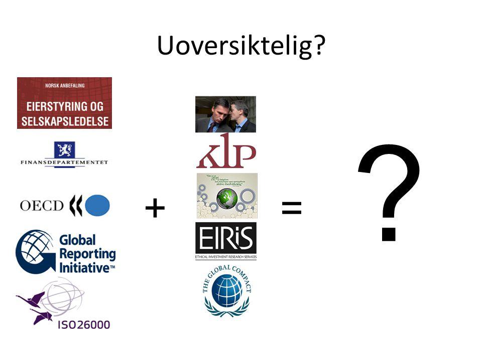 CR-quick fix: ISO26000 Styring og ledelseMenneskerettigheterArbeidstakereMiljøforholdGod forretningsskikkForbrukeransvarSamfunnsutvikling