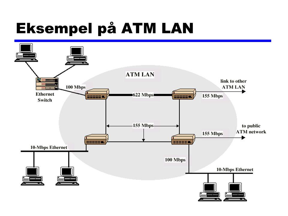 Eksempel på ATM LAN