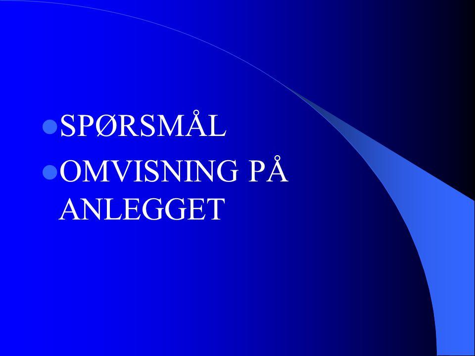 DIVERSE  PRODUSERER VANN TIL 70 ØRE PR.M3  EGET LABRATORIUM  UNDERLAGT MATTILLSYNET (250.000; PR.ÅR)  VAKTORDNING.