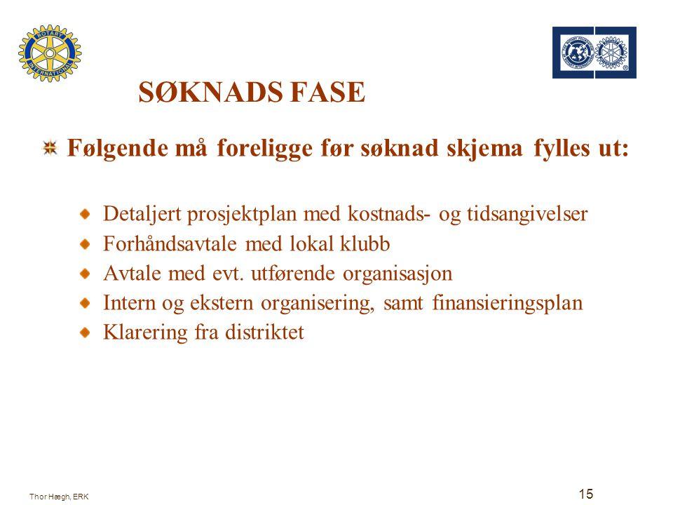MGP - Søknaden 16 Thor Hægh, ERK