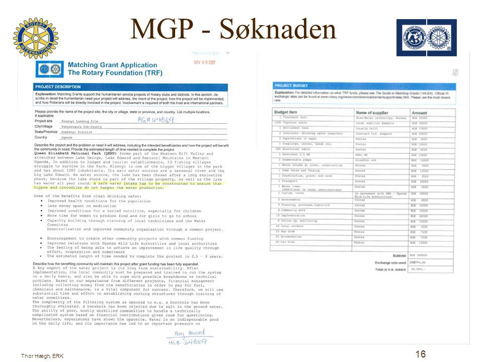 MGP - Søknaden 17 Thor Hægh, ERK