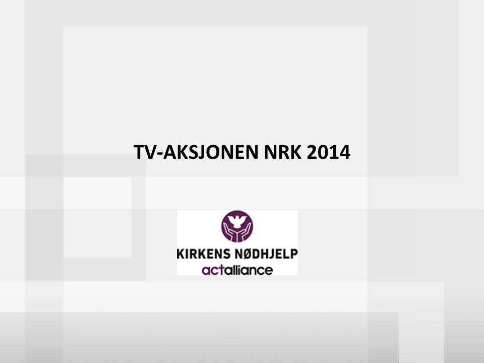 TV-AKSJONEN NRK 2014