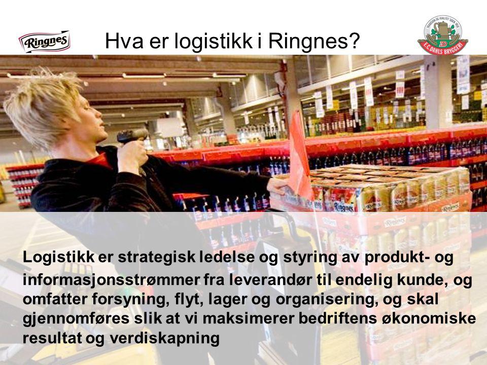Hva er logistikk i Ringnes.