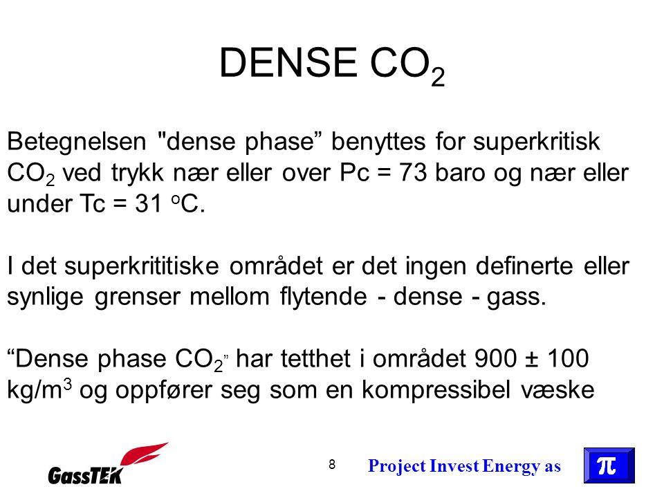 8 DENSE CO 2 Betegnelsen