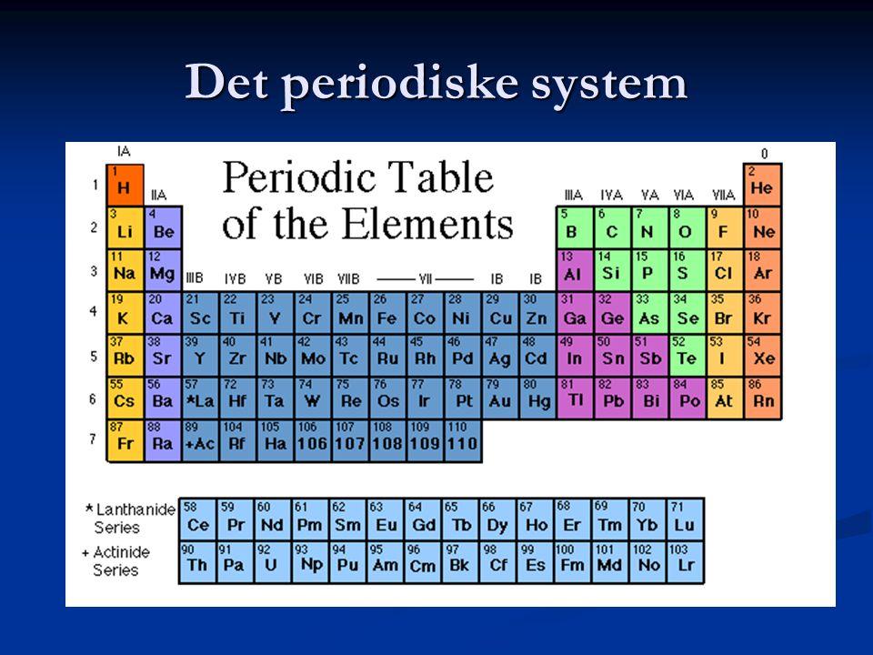 Det periodiske system