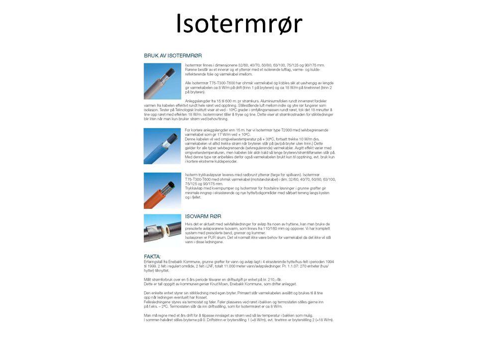 Isotermrør