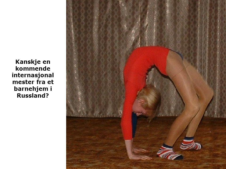 Kanskje en kommende internasjonal mester fra et barnehjem i Russland?