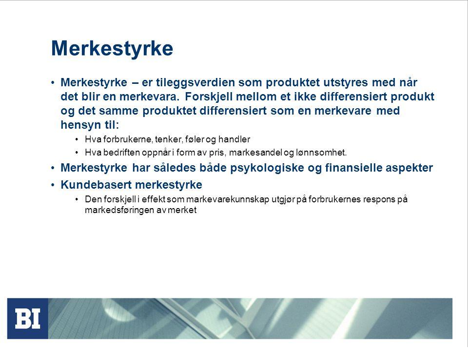 Helhetlige markedsføringsaktiviteter Personliggjøring Integrasjon Internalisering