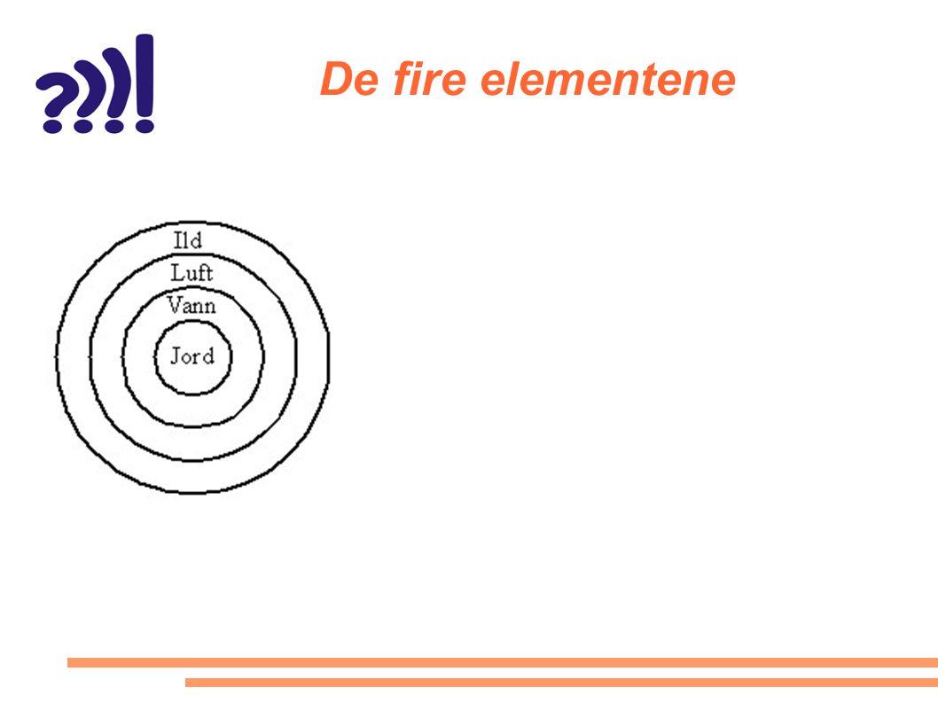 De fire elementene