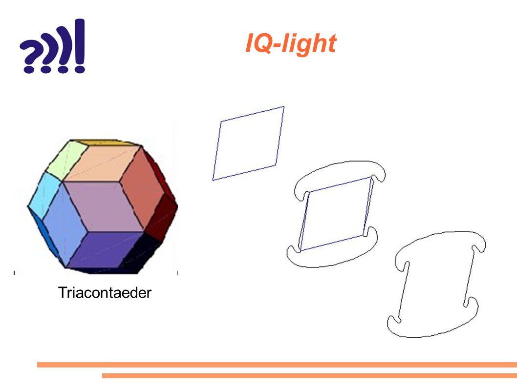 IQ-light Triacontaeder