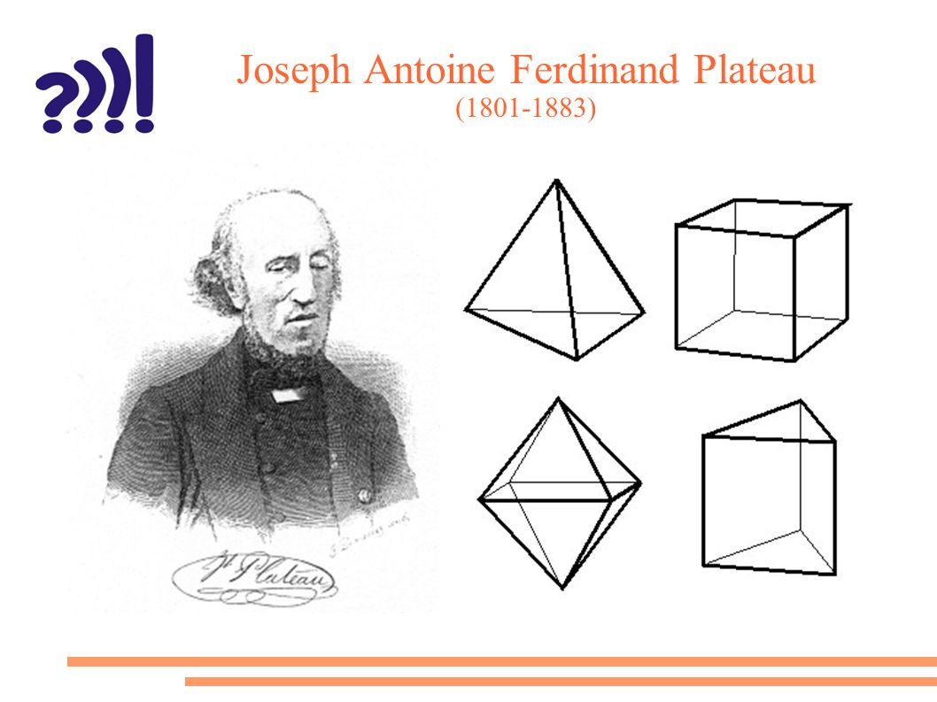 Joseph Antoine Ferdinand Plateau (1801-1883)