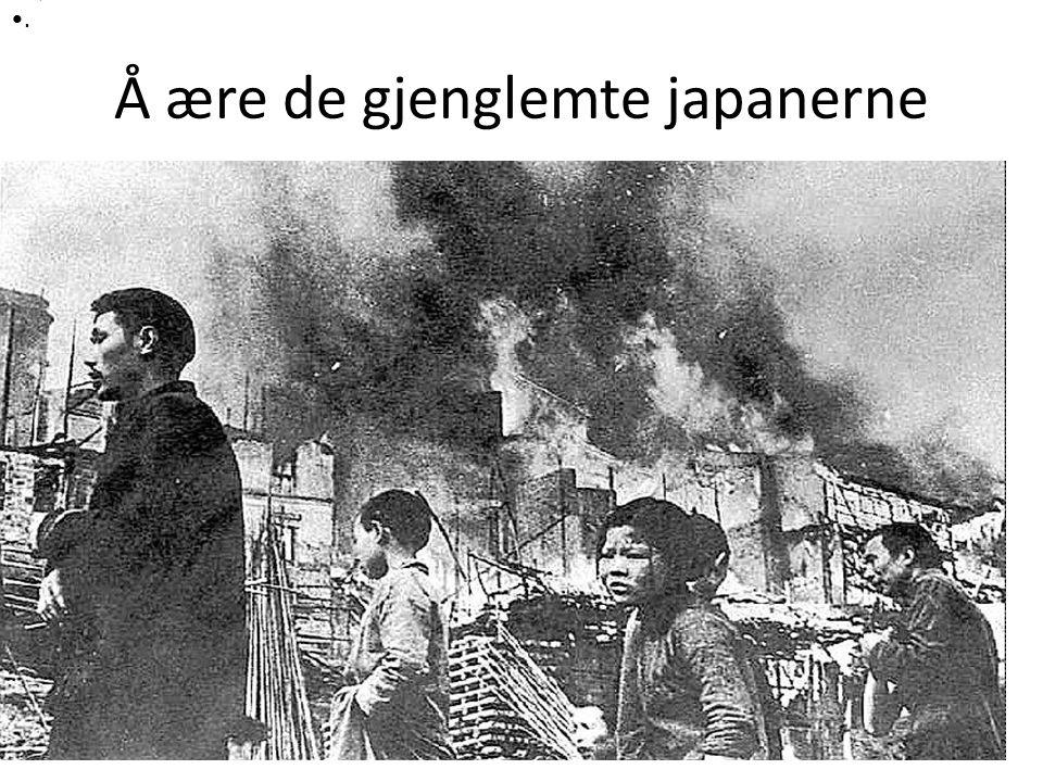Å ære de gjenglemte japanerne Størrelse:798 × 521 Type:118KB JPG Nettsted for dette bildet aftenposten.no.