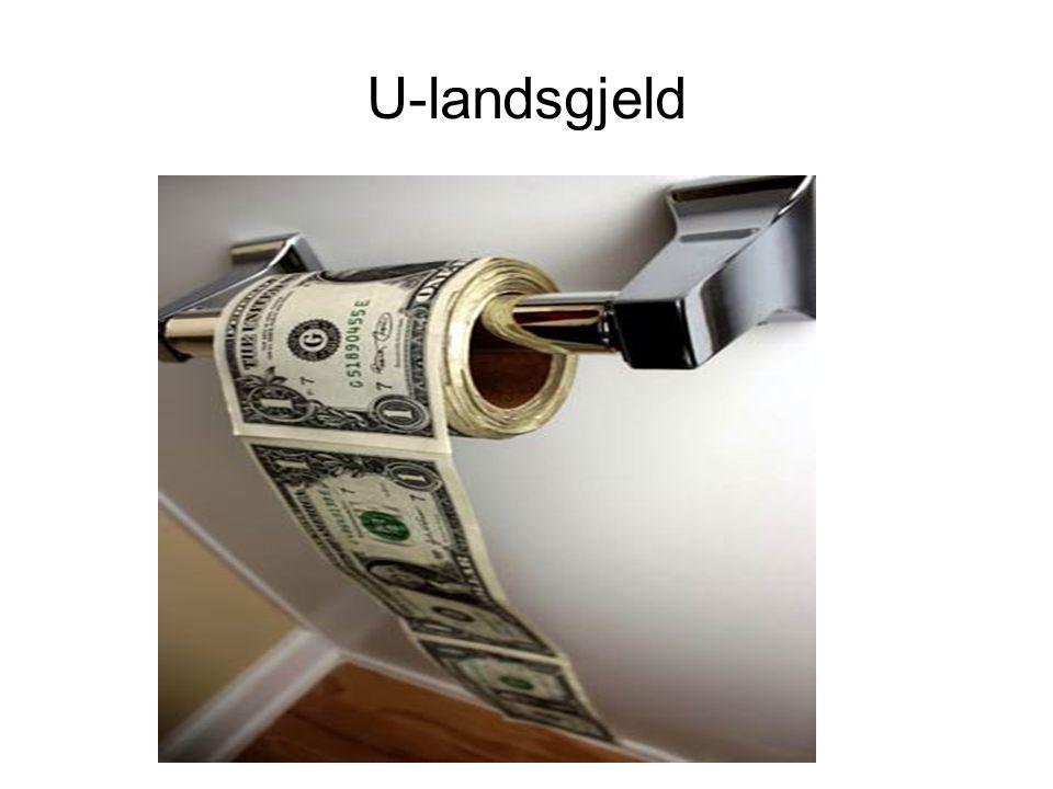 U-landsgjeld
