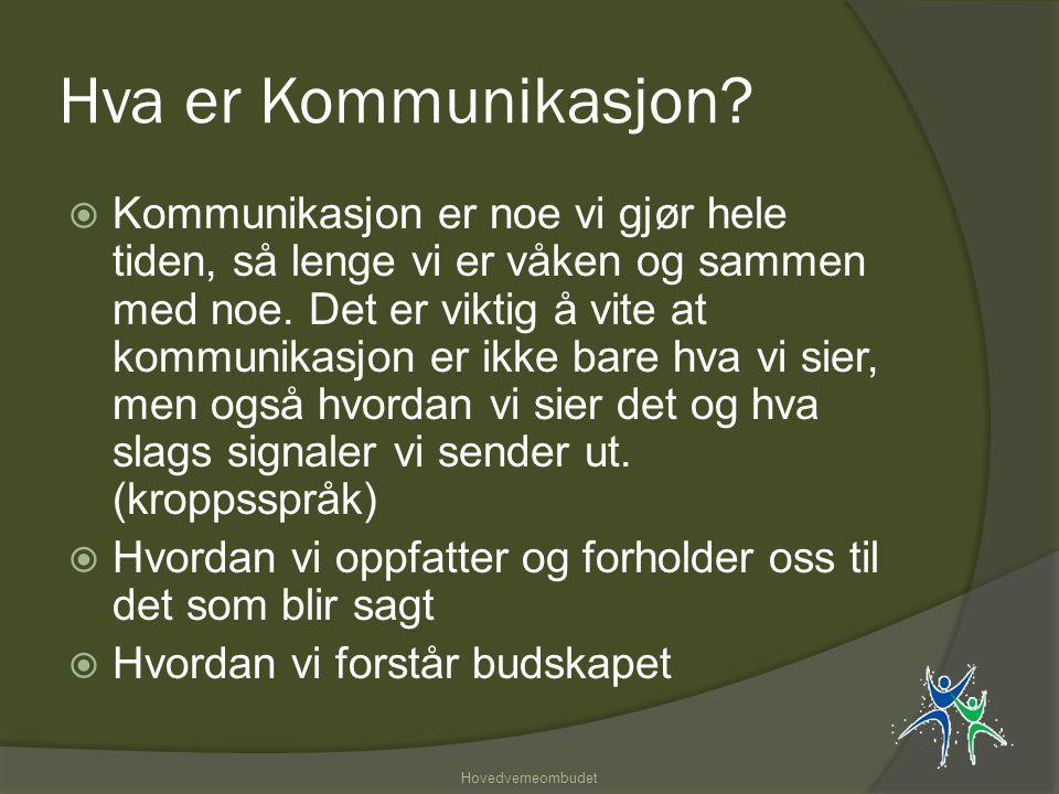 Hva er Kommunikasjon.