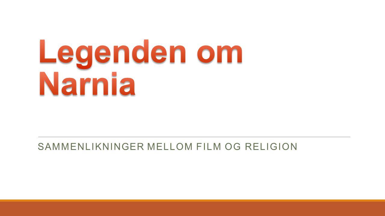 SAMMENLIKNINGER MELLOM FILM OG RELIGION