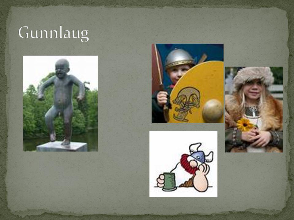 Ravn tar utfordringen fra Gunnlaug med ære Planlagt for å hevne seg på Gunnlaug.