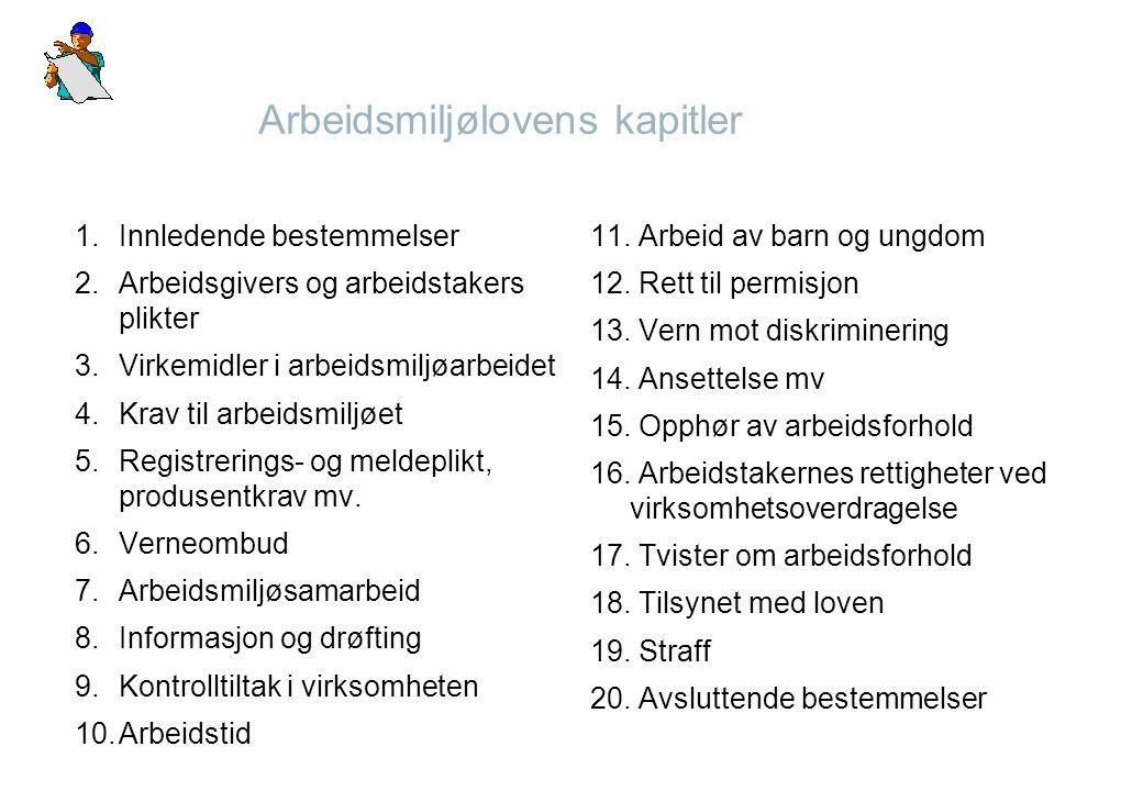 Viktige forskrifter under AML Forskrift om Bruk av arbeidsutstyr best.nr.