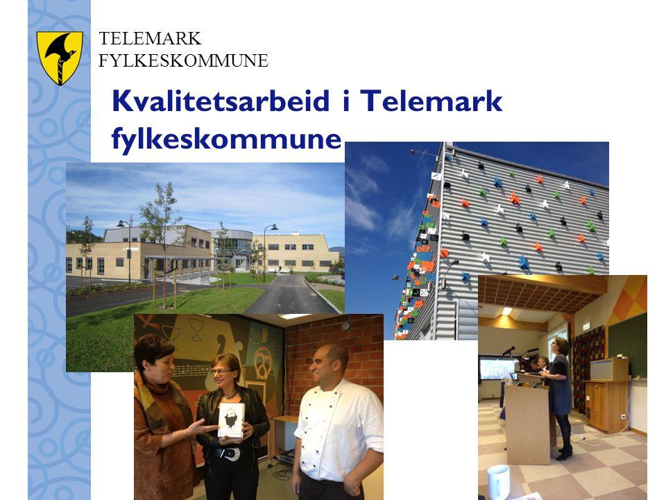 TELEMARK FYLKESKOMMUNE Kvalitetsarbeid i Telemark fylkeskommune