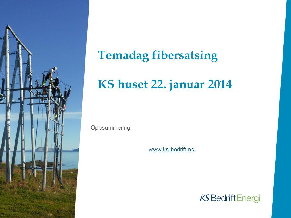 Fibersatsing 1 Uten lokale nettselskap – ikke bredbånd i distriktet.
