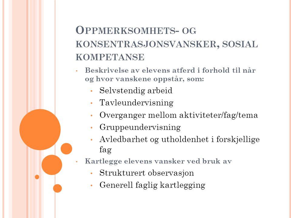 G ENERELLE LÆREVANSKER NB.