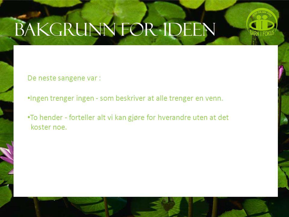 Hva er utført.Vi har gitt ut CD i samarbeid med Olsvik barnehage i Bergen.