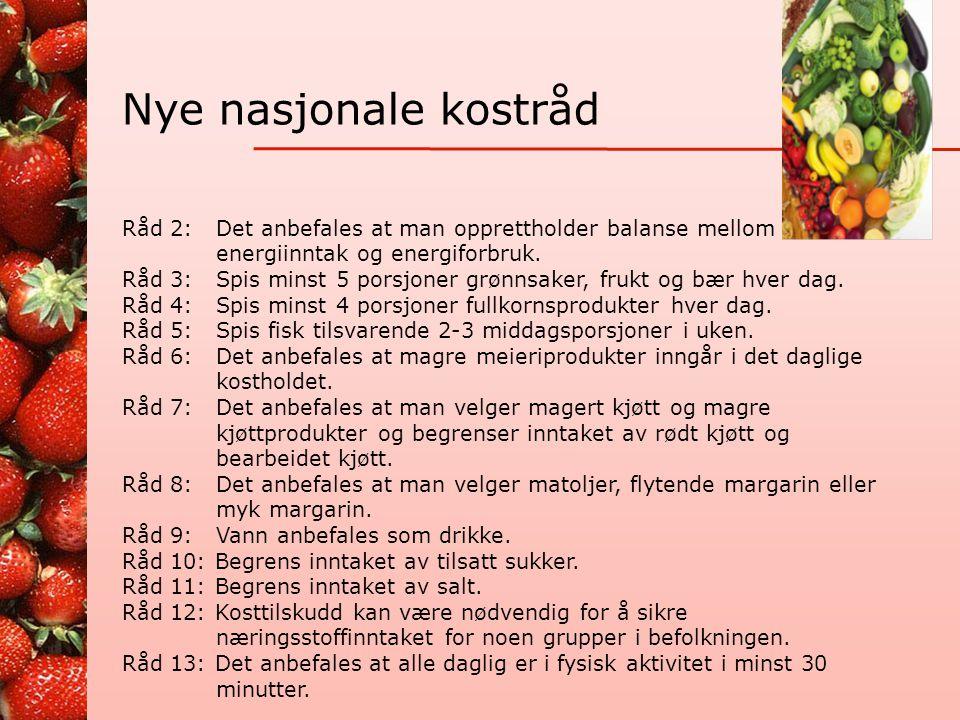 Nøkkelhullet • Felles nordisk merkeordning • Kan brukes på matvarer med mer fiber og mindre salt, sukker og fett enn sammenliknbare produkter • Likevel forskjeller mellom bedre og dårligere varianter med merket.