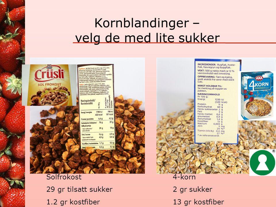 Myte: Det er lurt å kutte ut poteter 160 kcal tilsvarer 210 gr potet 150 gr ris (2 dl kokt) 105 gr spagetti (1,75 dl kokt) Mengde kcal er lik i både f