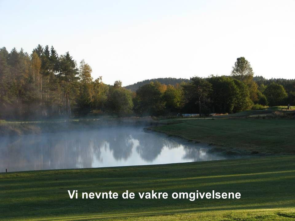 Hver golfbane er unik, spillet tar mange år å mestre.