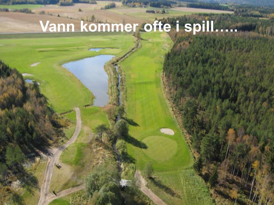 En golftur varer ca. 4 timer og man går ca. 12 kilometer.