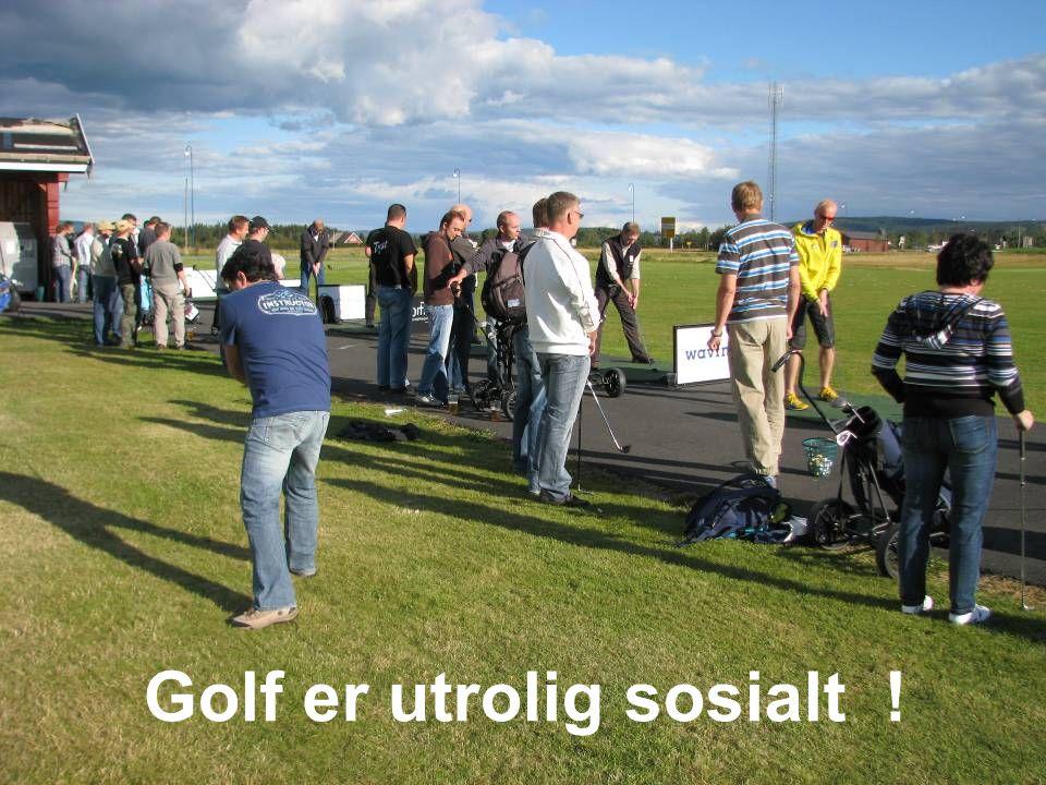 Vi skal prøve å fortelle hvorfor vi tror golf kan være interessant for deg