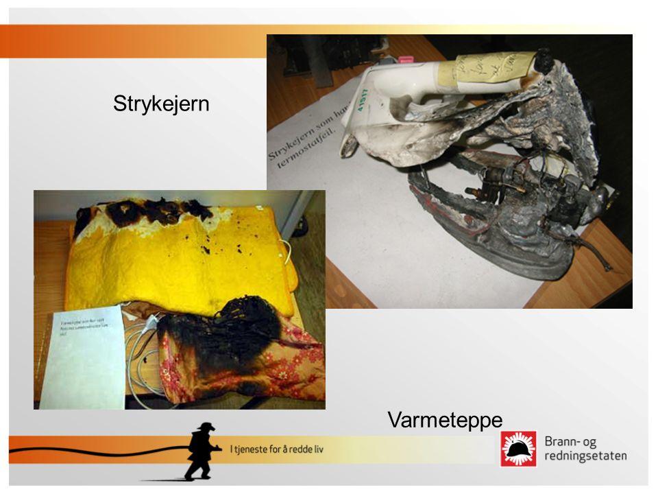 Strykejern Varmeteppe