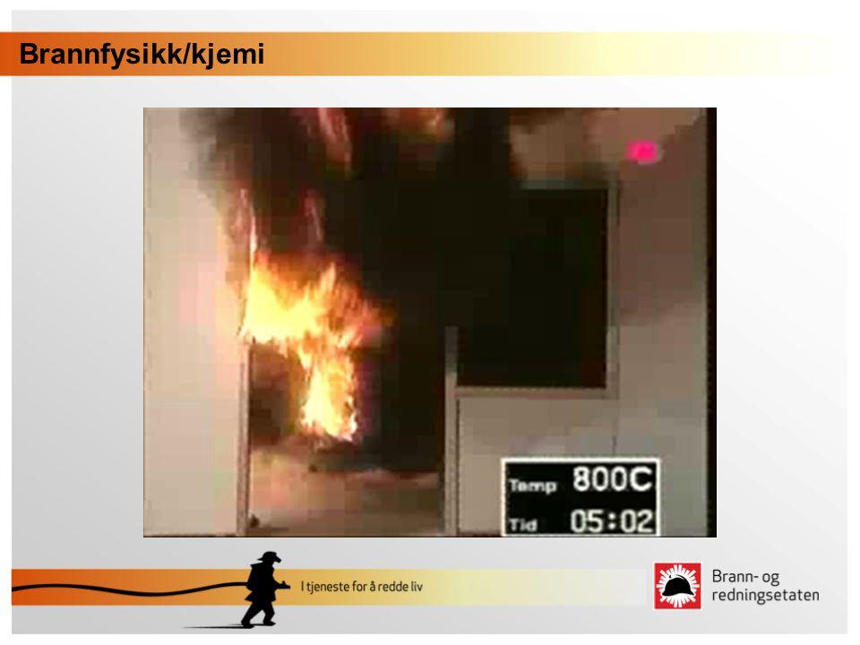 •Overtenning •Når alle brennbare materialer etter en pyrolyse begynner å ta del i brannen og resulterer i en total brann.