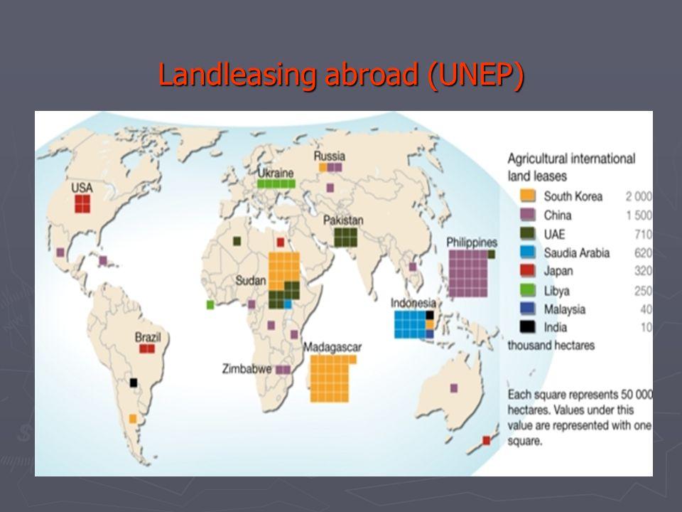 Landleasing abroad (UNEP)