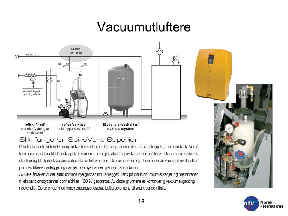 Vacuumutluftere 18
