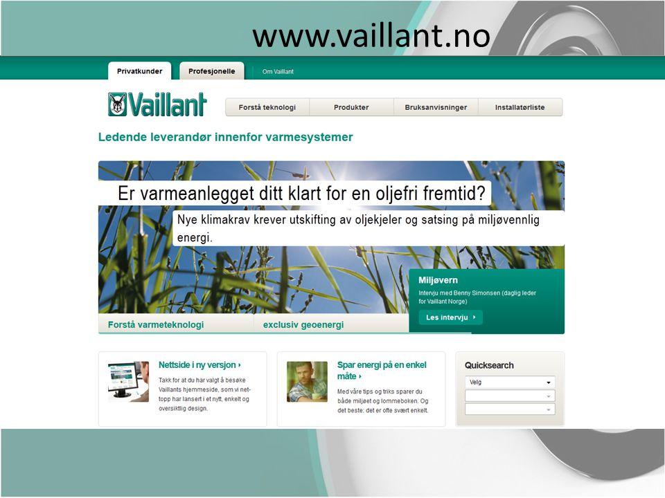 www.vaillant.no