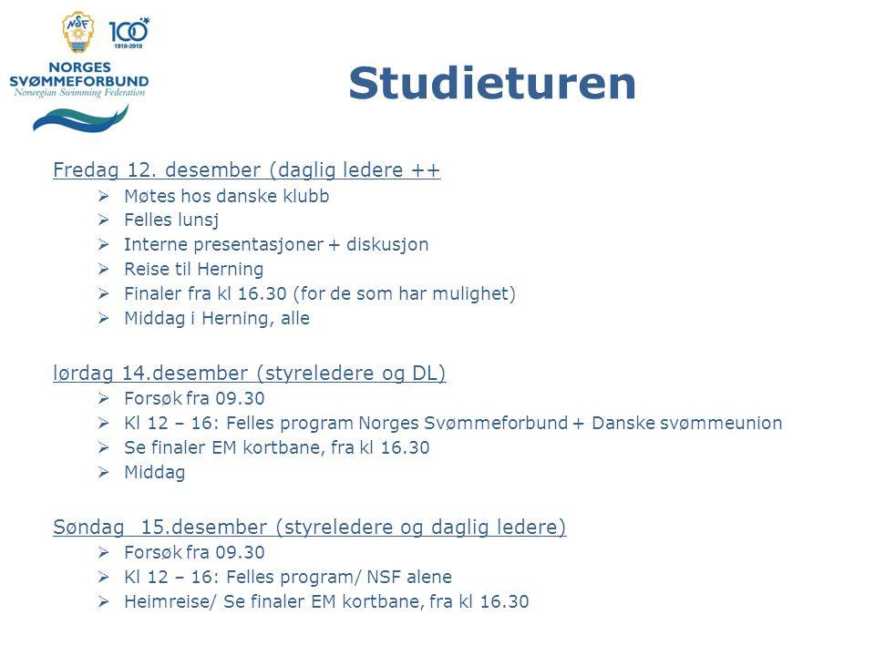 Studieturen Fredag 12.