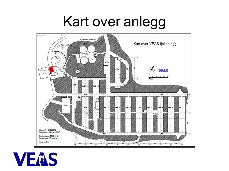 Kart over anlegg