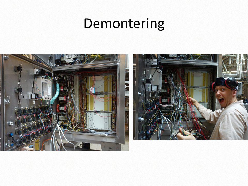 Demontering