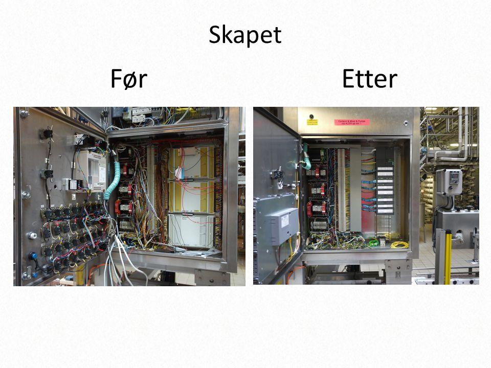 Skapet Før Etter