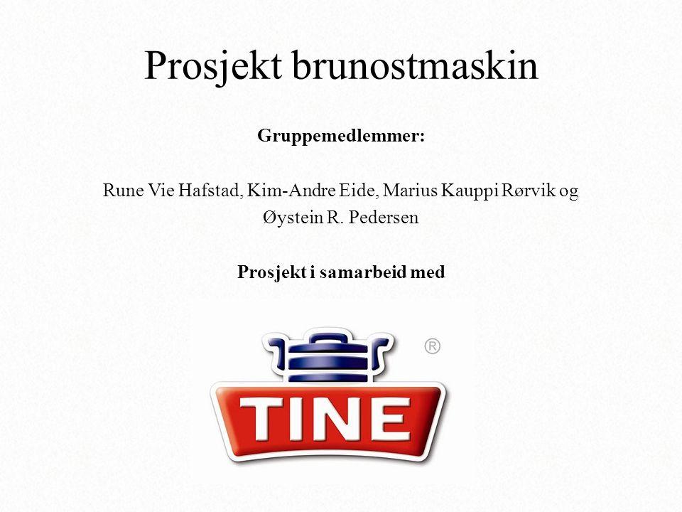 Gruppemedlemmer: Rune Vie Hafstad, Kim-Andre Eide, Marius Kauppi Rørvik og Øystein R. Pedersen Prosjekt i samarbeid med