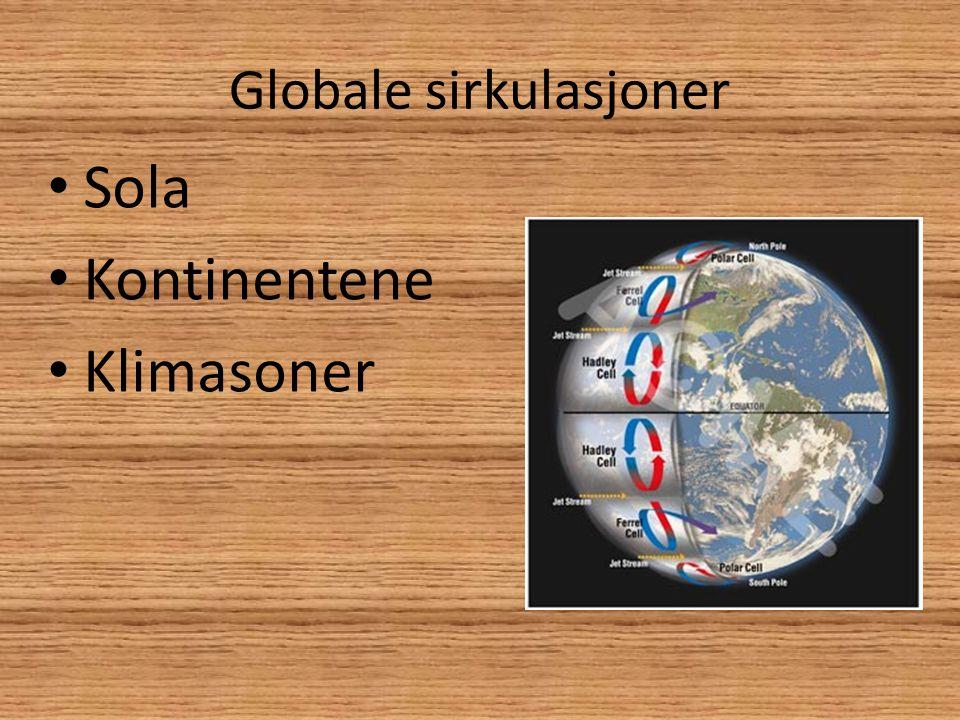 Polarklima • Kaldt • Liten plantevekst • Beliggenhet • Tørr luft • Permafrost • Forandringer