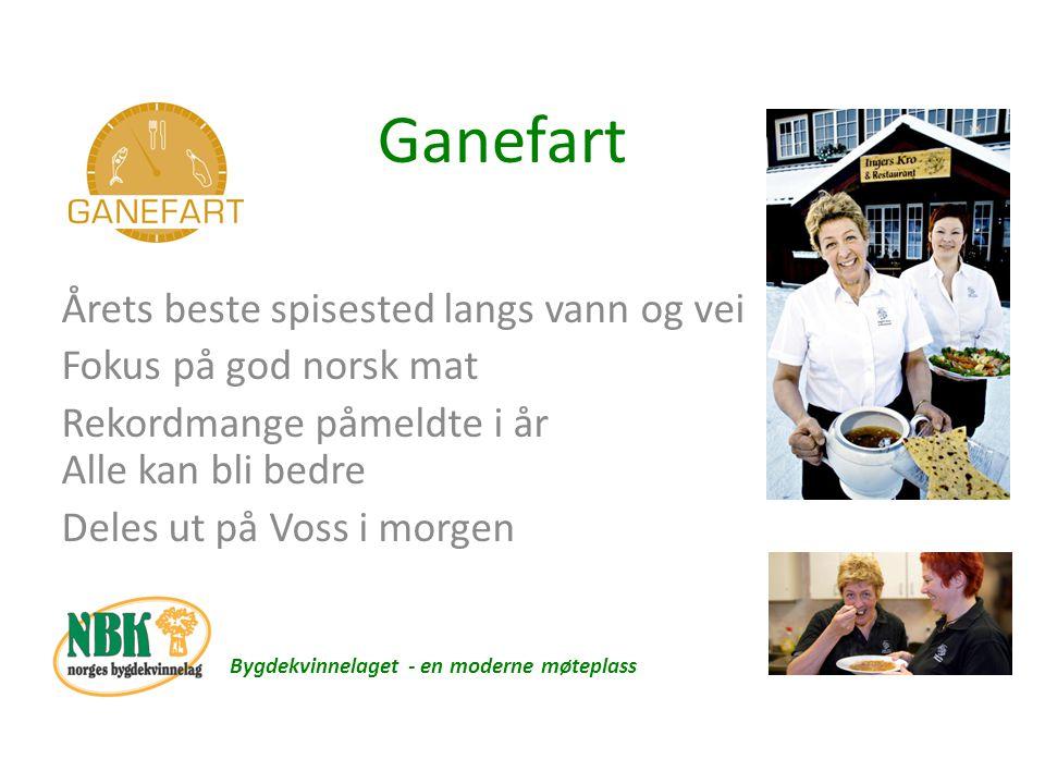 Temadager – faste dager Bygdekvinnelaget - en moderne møteplass Følge sesong Fårikålens dag 30.