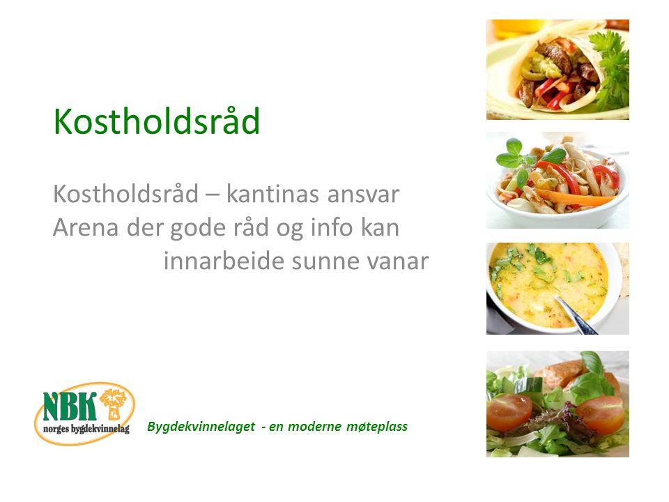 Skolerestauranten Hundstuen Bygdekvinnelaget - en moderne møteplass Skolematens Venner Målet – daglig mattilbud til alle Sunn matglede Smak kan endres