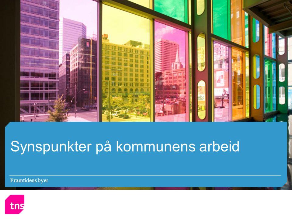 Framtidens byer Synspunkter på kommunens arbeid