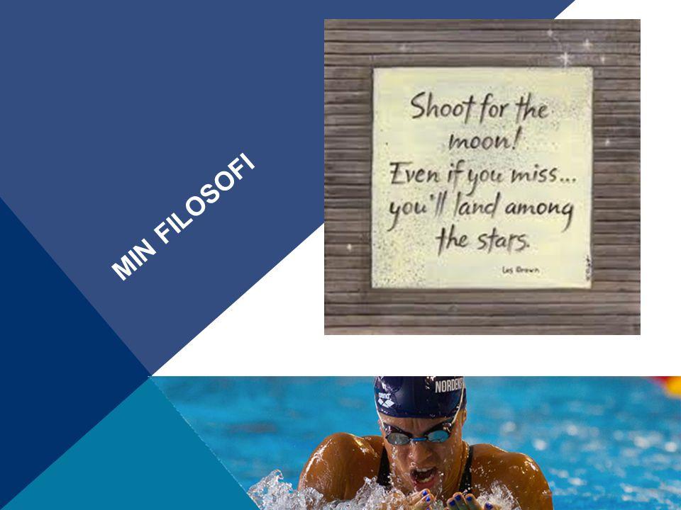 Min filosofi som trener Tilrettelegge slik at hver svømmer skal kunne nå sitt sportslige og personlige potensial.