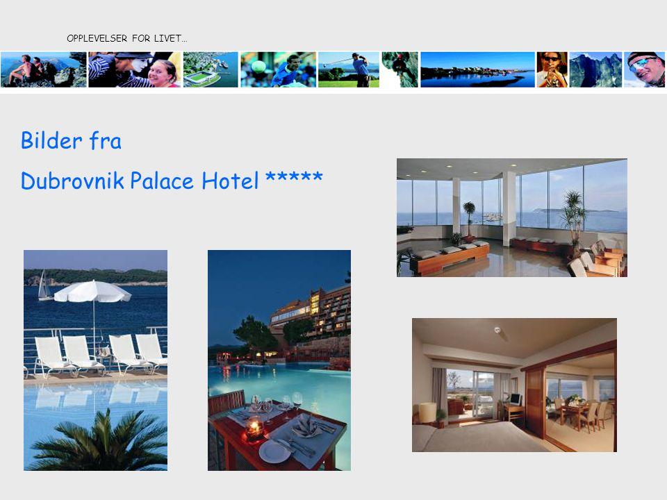 OPPLEVELSER FOR LIVET… Bilder fra Dubrovnik Palace Hotel *****