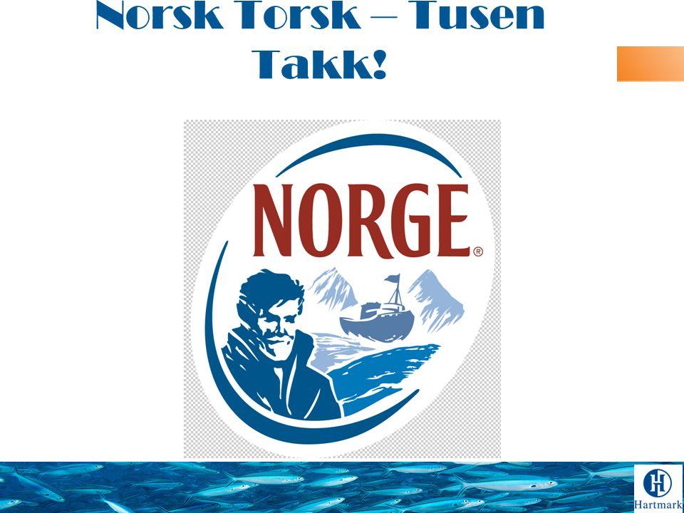 Norsk Torsk – Tusen Takk!