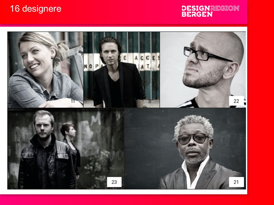 16 designere