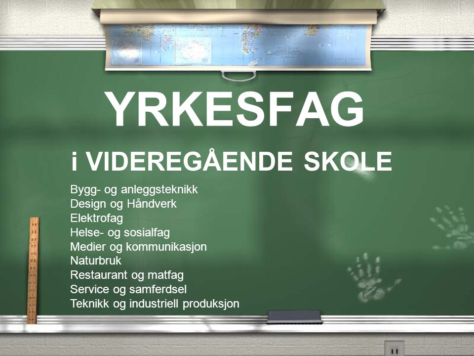 TEKNIKK og INDUSTRIELL PRODUKSJON VG1 -Teknikk og -industriell produksjon VG2VG3 -Garverifaget -Industriellskotøyp.